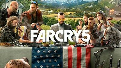 PlayStation 4 PS4 Game: FARCRY 5 FAR CRY 5 ! LIKE NEW ! CHEAP !