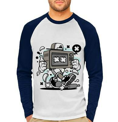 Mens T-Shirt Baking Oven Retro Food Cooking Double Earth Ceramic Gas Micr C013LB