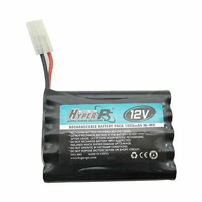 Replacement Battery Pack 12V 1800mAh Ni-MH Rechargeable Battery for RC Car Boat
