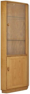 Ercol windsor display cabinet