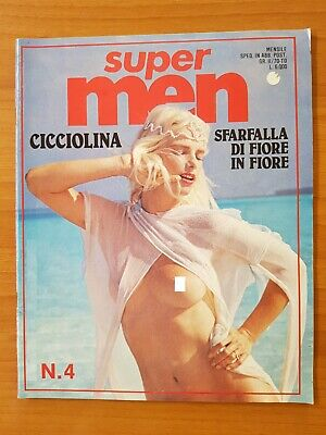 Magazine Super Men N 4 4/1983 Ilona Staller Cicciolina Patty Pravo Erotique
