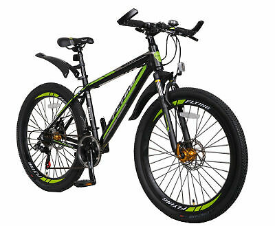 "Sale 26"" Sport Mountain Bike,21 Speeds AL Frame, Male Birthday Gift  5Y Warranty"