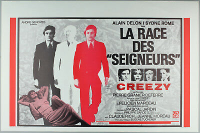 "Vintage 60s/70s movie poster : LA RACE DE ""SEIGNEURS"""