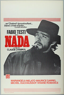 Vintage 60s/70s movie poster : NADA