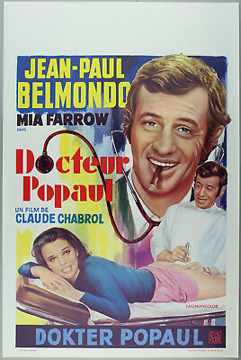 Vintage 60s/70s movie poster : DOCTEUR POPAUL