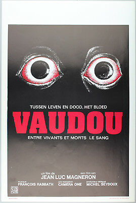 Vintage 60s/70s movie poster : VAUDOU