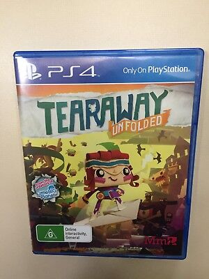 PS4 Tearaway Unfolded Game