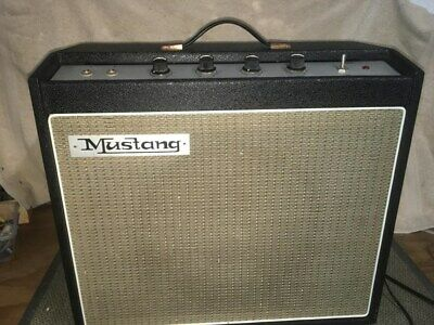 Vintage Mustang M10 Guitar Amplifier with 6GW8 Valves