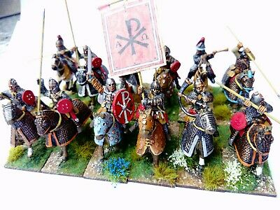 12x Nicely painted Late Roman/Arthurian EHC gripping beast 28mm Matal
