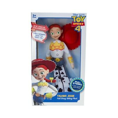 Toy Story 4 Pull String Plush Talking Jessie