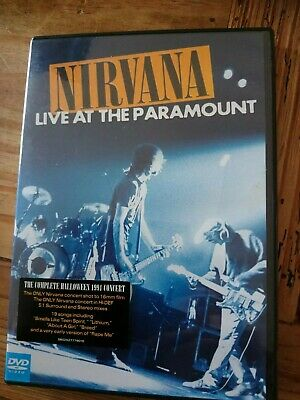 Nirvana - Live At Paramount (DVD, 2011) Kurt Cobain