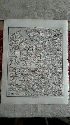 1794 -  John Cary original map 40 Wrexham Oswestry,  Cheshire
