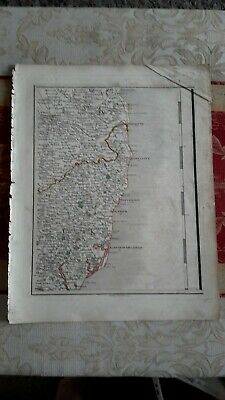 1794 -  John Cary original map 36 Norfolk and Suffolk