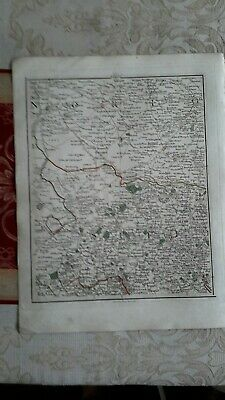 1794 -  John Cary original map 35 Norfolk and Suffolk
