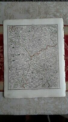 1794 -  John Cary original map 33 nothamptonshire Leicestershire