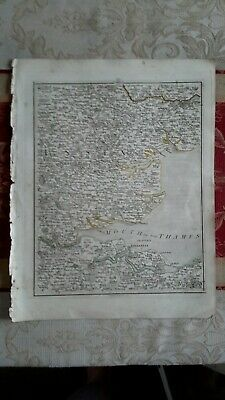 1794 -  John Cary original map 26 London