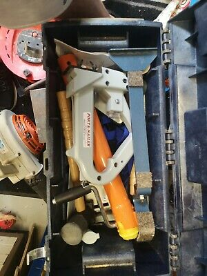 Porta Nailer - including ratchet straps, 2 mallets, clamps