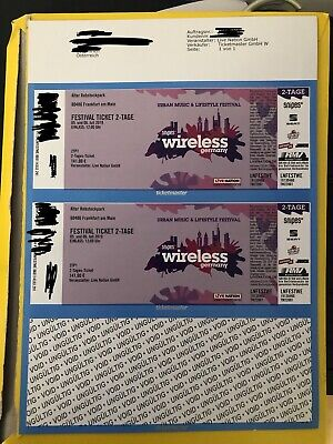 3x Wireless Festival 2-Tages Ticket
