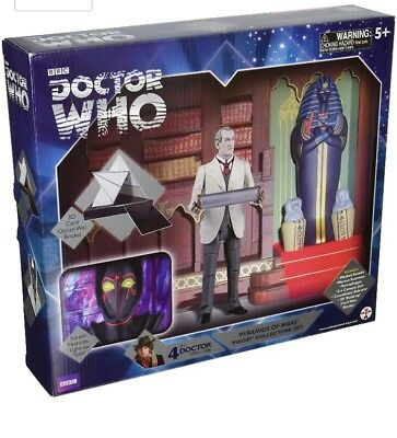 Doctor Dr Who PYRAMIDS OF MARS PRIORY Collector Set BNIB 4th Tom Baker BBC