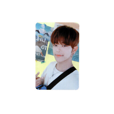 [STRAY KIDS]Cle 2:Yellow Wood/Side Effects/Official Photocard/Outdoor-WOOJIN
