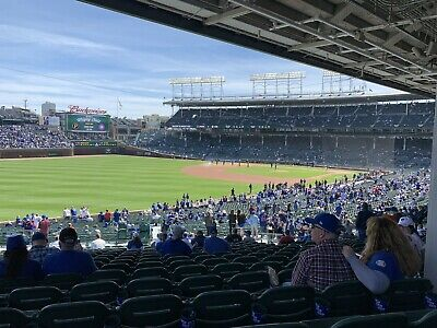 Cubs Vs Braves 6/24 2 Tickets Section 204
