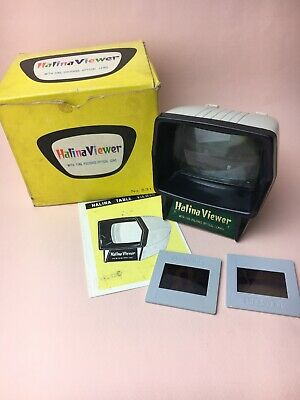 Vintage Halina Viewer No. 531 Boxed For Colour Slides