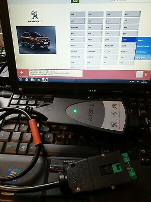 LEXIA 3 PP2000 Diagnostic Laptop and Interface for Citroen Peugeot DIAGBOX v9.23