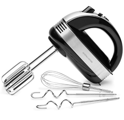 Kitchen Speed Turbo Function Electric Hand Mixer Handheld Food and Cake Mixer