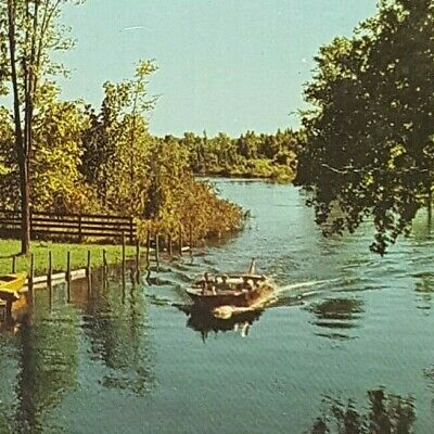 Vintage Postcard Lake Bellaire Michigan 1971