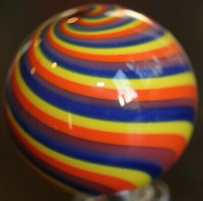 Stellar Contemporary Steve Davis Rainbow Marble - 1.45 Inches - MINT & Signed