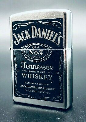 Zippo Jack Daniels No.7 Tennessee Whisky Lighter
