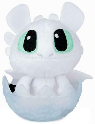 How To Train Your Dragon 3 Hidden World LIGHT FURY Collectible Plush White Egg