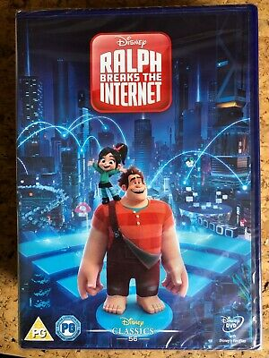 Ralph Breaks The Internet Dvd 2019 Brand New And Sealed