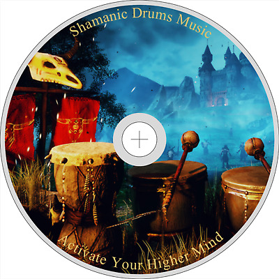 NATIVE AMERICAN SHAMANIC MUSIC CD DRUMS CHANTS RATTLES MEDITATION