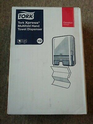 Tork 552008 Xpress Multi-fold hand towel black dispenser