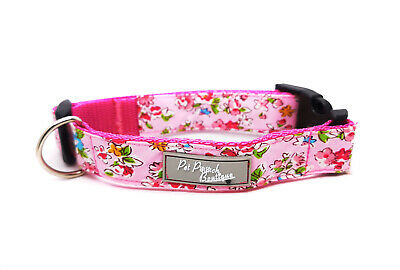 Pepper Floral Puppy Dog Collar OR Lead Size Small - Extra Large