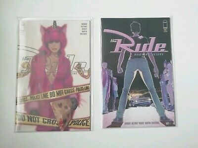 The Ride Burning Desire #1 - First  Print - Cover A And B - Image Comics Hughes