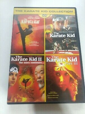 The Karate Kid Collection DVD - Like New