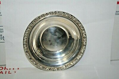 Antique Newport Sterling Silver Cream Pitcher Saucer #1112 Very Rare