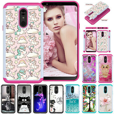 For LG Stylo 4 G8 ThinQ K10 2018 K30 Phone Case Hybrid Shockroof Rugged Cover