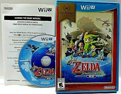 The LEGEND OF ZELDA The Wind Waker HD COMPLETE Selects Nintendo Wii U VIDEO GAME