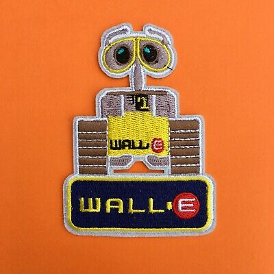 Disney Wall-E Robot Character  Embroidered Appliqué Patch Sew Iron On