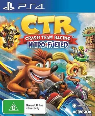 Crash Team Racing Nitro-Fuelled, Playstation 4, PS4 game,  BRAND NEW
