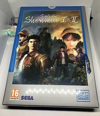 Shenmue I & II - NEW & SEALED - Limited Edition Collector PS4 - Pix N Love RARE