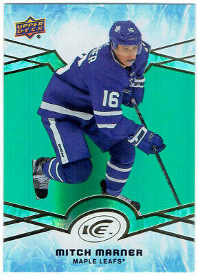 2018-19 Upper Deck Ice Green Parallel MITCH MARNER #28 Toronto Maple Leafs UD