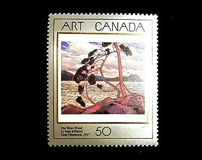 1990 Canada Stamp 1271, Mint MNH! Art Canada, Tom Thompson 1910s Painter!