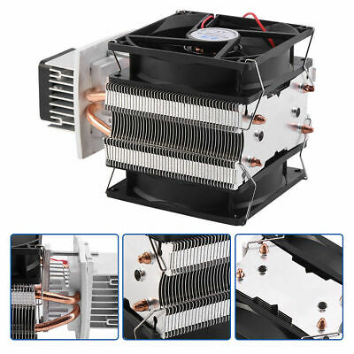 12V 6A DIY Thermoelectric Peltier Refrigeration Cooling System Cooler Fan (S749)