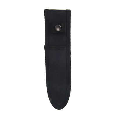 21cm x 5cm mini small black nylon sheath for folding pocket knife pouch case Pz