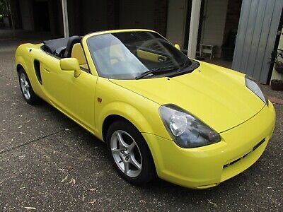 Toyota MR2 2001 SPYDER, SPORTS CONVERTIBLE