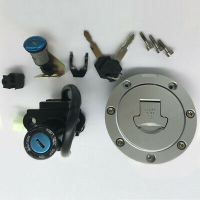 2005 HONDA CBR1000RR OEM IGNITION LOCK KEY SET W/ GAS CAP AND SEAT